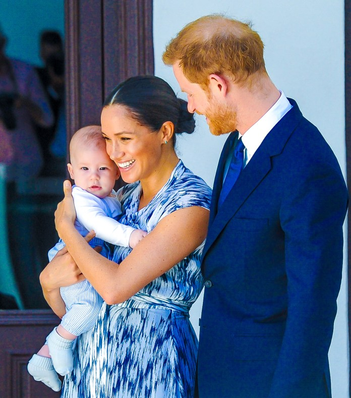 Harry, Meghan and their son Archie recently moved into their new home in Santa Barbara, California