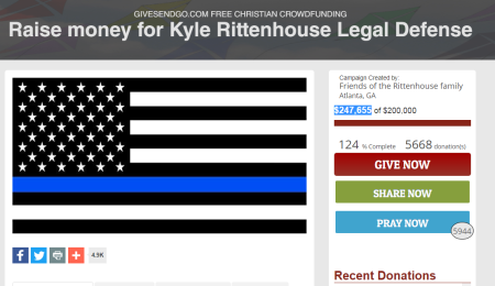 Discover Blocks Credit Card Donations to Christian Crowdfunding Campaigns for Kyle Rittenhouse, Kenosha Police Officer who Shot Jacob Blake