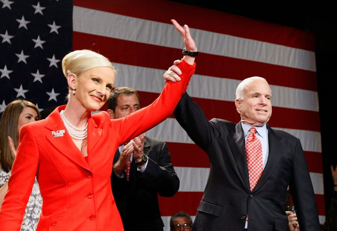 McCain said her husband and Biden had differences but they put country over party