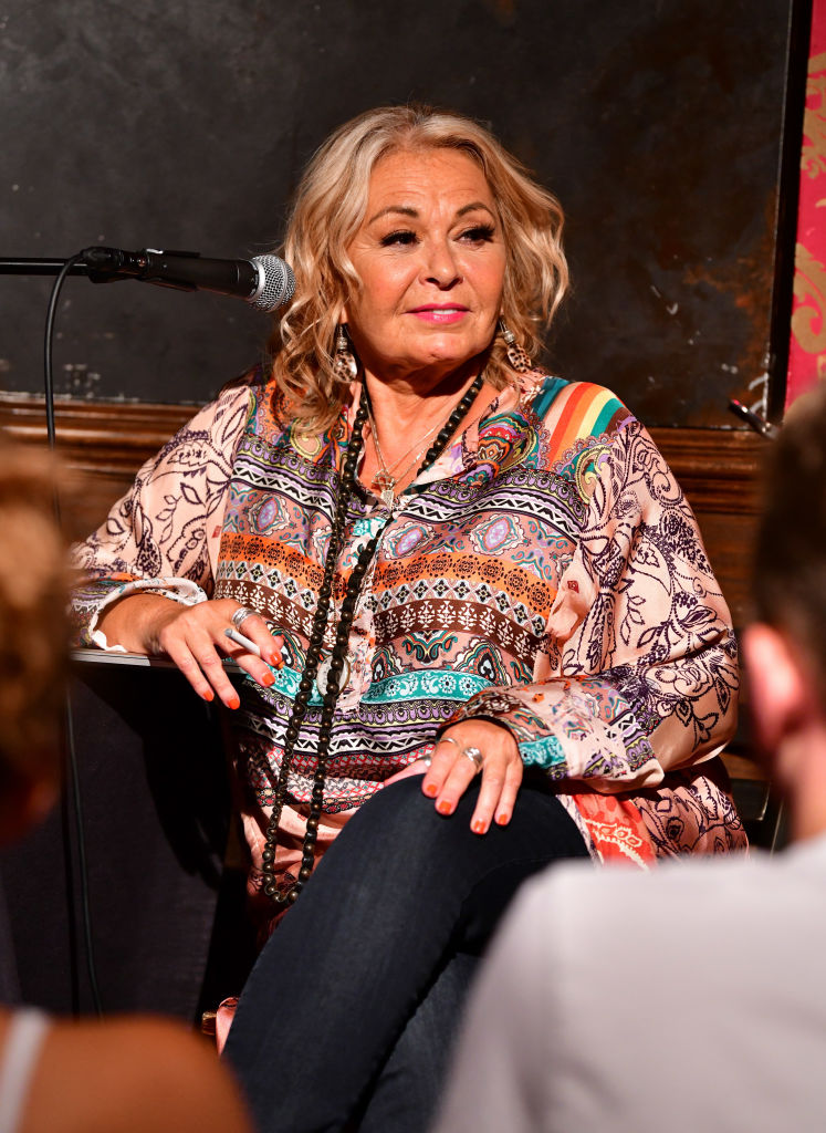 Roseanne Barr repeated a QAnon request