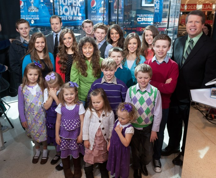 The Duggars featured on 19 Kids and Counting between 2008-2015