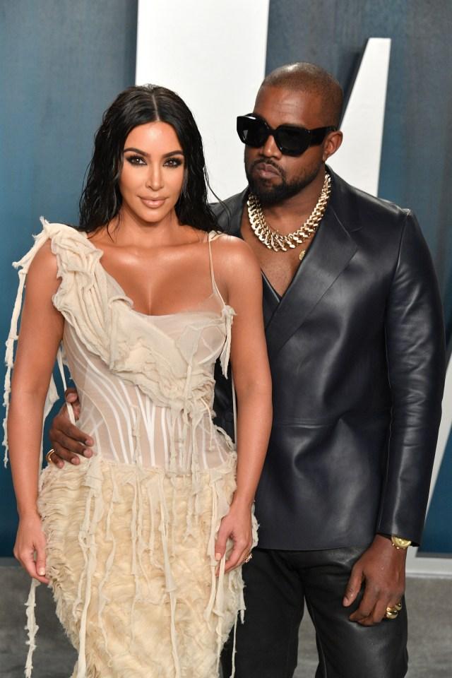 Kanye recently built walls around his LA home with Kim