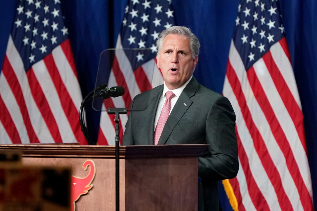 House Minority Leader Kevin McCarthy, of California, unveiled the plan on Capitol Hill on Tuesday