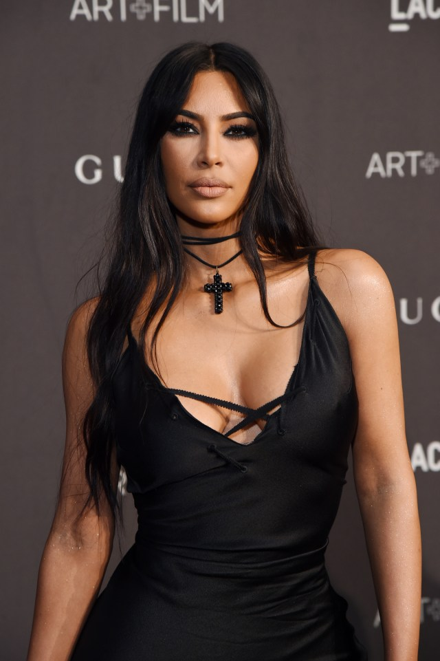 Kim was not seen with her husband on Wednesday amid their marital crisis