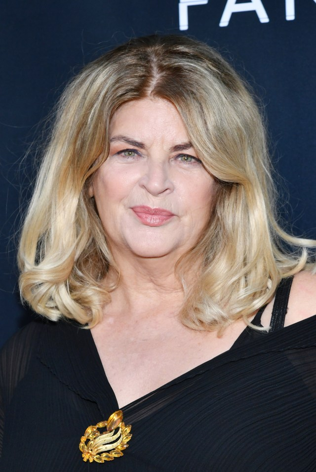 Kirstie Alley was slammed by fellow celebrities after openly supporting President Donald Trump