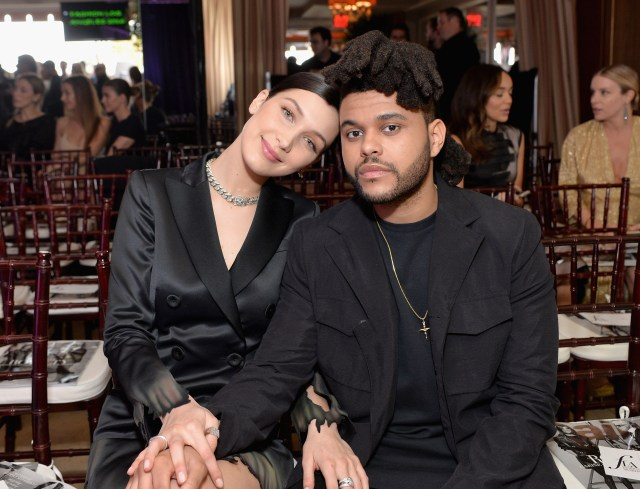 Bella previously dated singer The Weeknd