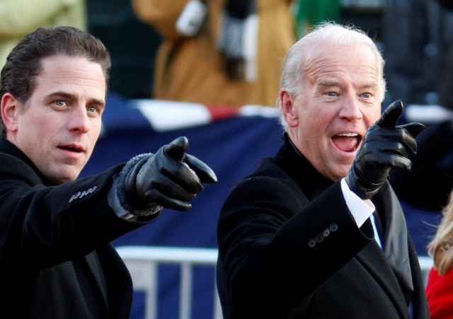 Joe Biden said he was proud of his son working on his drug problem