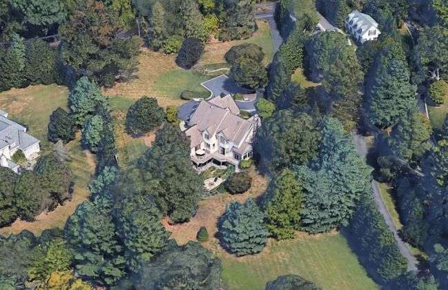 Biden and Jill's mansion in the Wilmington suburb