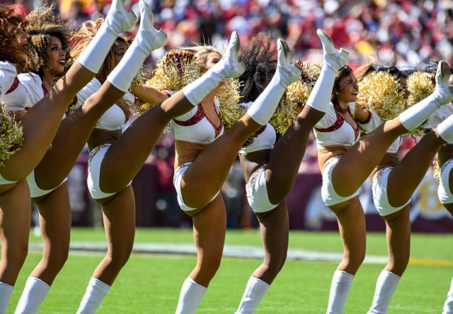 Snyder allegedly made the comments at an event where the cheerleaders performed in 2004