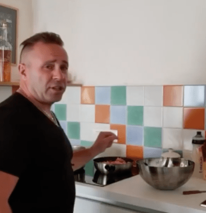 RHONJ fans praise Joe Giudice for being 'positive' as he cooks up a storm after ex Teresa snubbed him from family photo