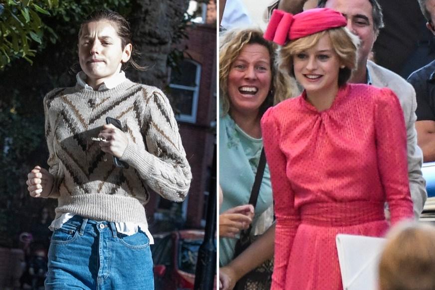 The Crown's Princess Diana actress Emma Corin is ...