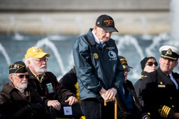 World War II veterans across the world will remember those who died on World Harbor Day