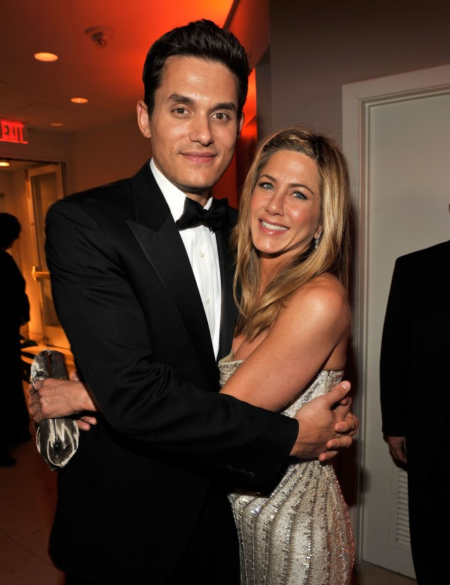 John was in a relationship with Jennifer Aniston from 2008-2009