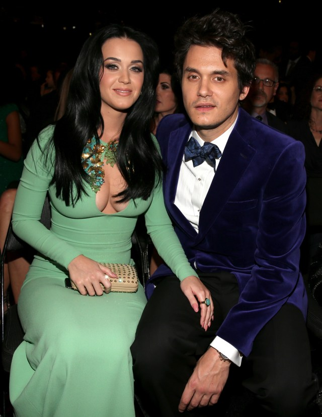 The singer also had an on-and-off romance with Katy Perry