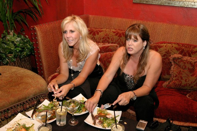 Both women were original stars on RHOC