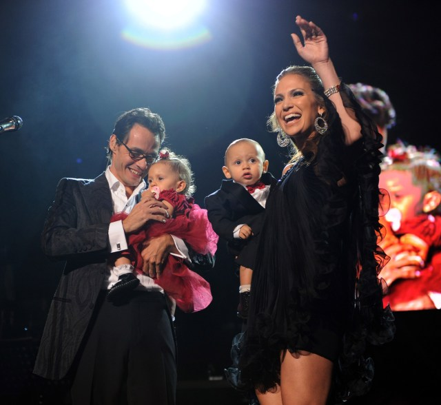 JLo co-parents with ex Marc Anthony