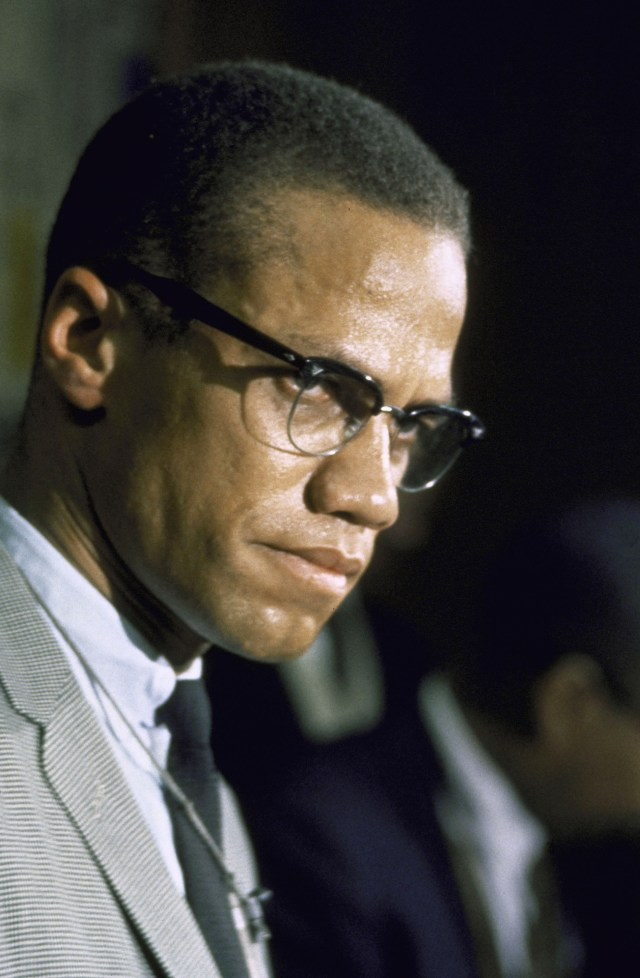 Malcolm X was a charismatic and outspoken orator