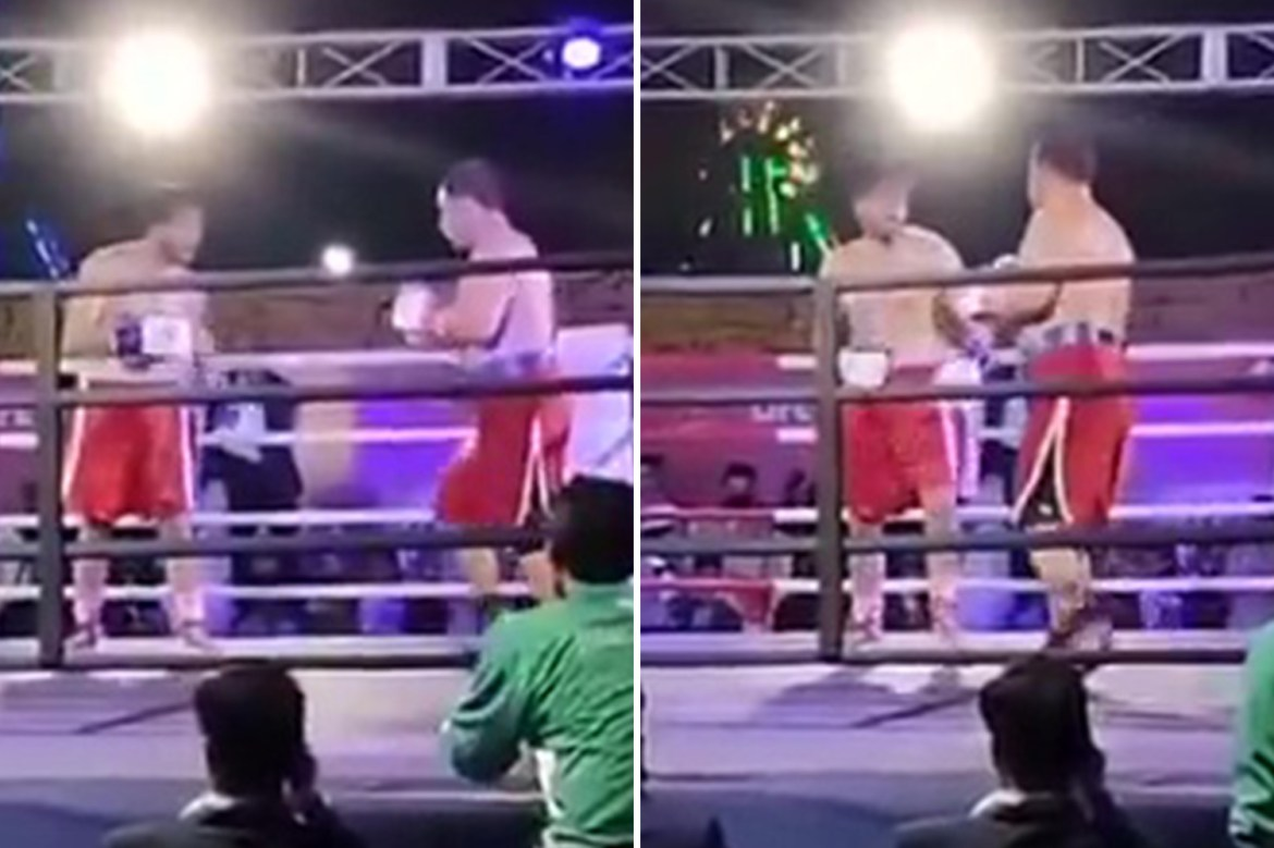 Boxer Muhammad Aslam Khan dies aged 27 after collapsing in ring following  KO - Flipboard