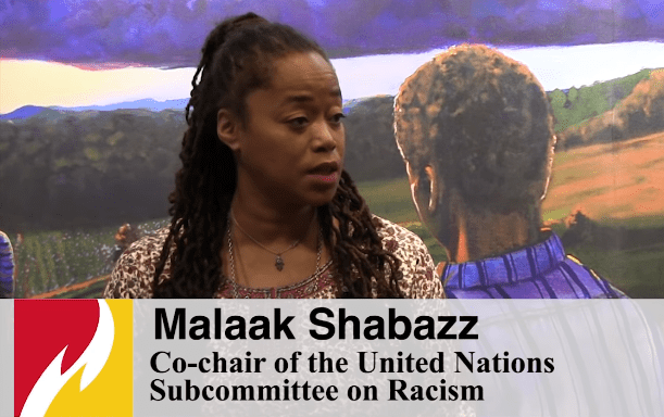 Malaak Shabazz - born after Malcolm X's assassination - has also continued her dad's legacy