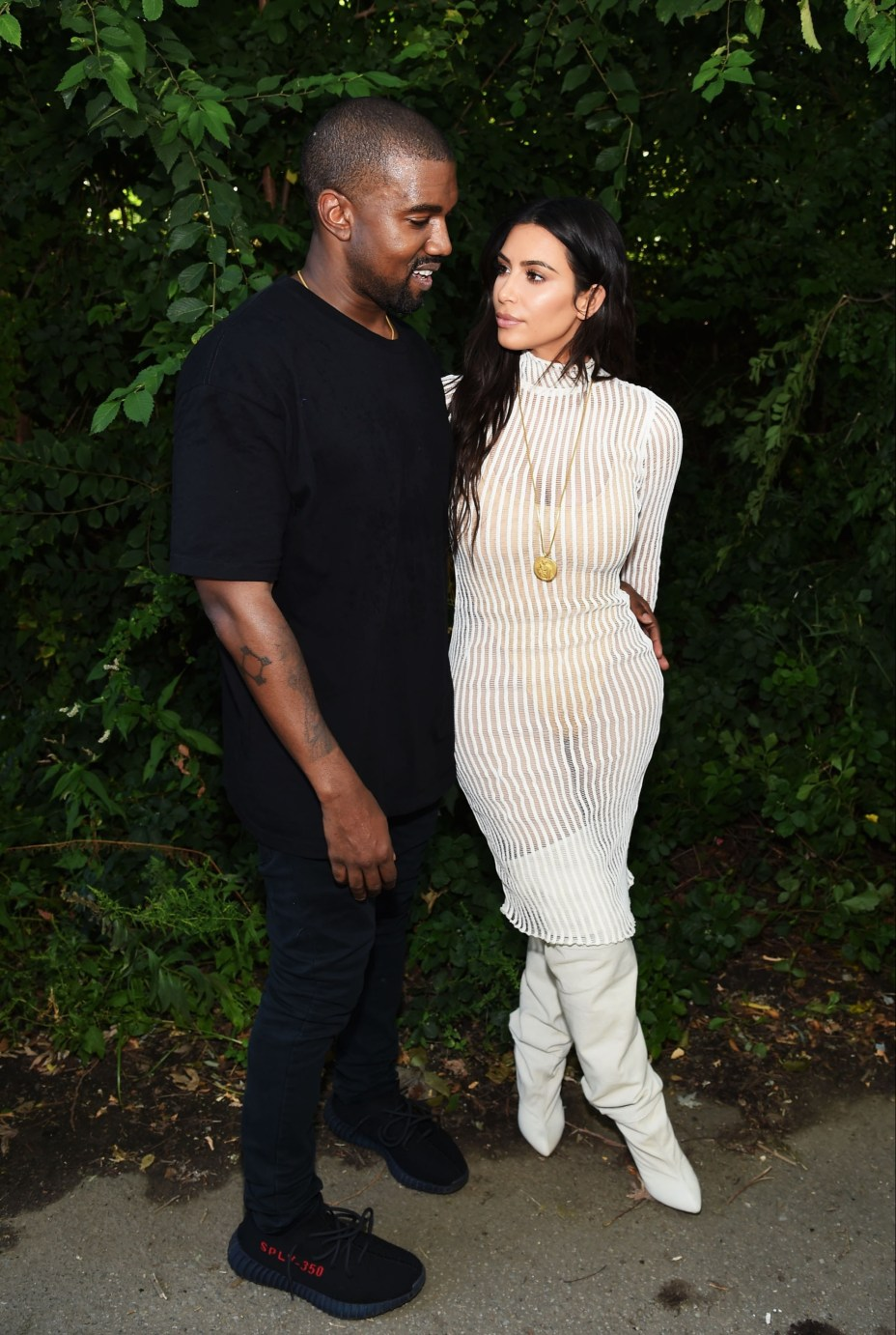 The pair are said to be living separate lives after Kim 'cut off all contact' with Kanye
