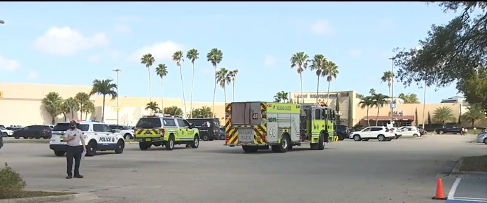 Miami International Mall was evacuated following a reported bomb threat