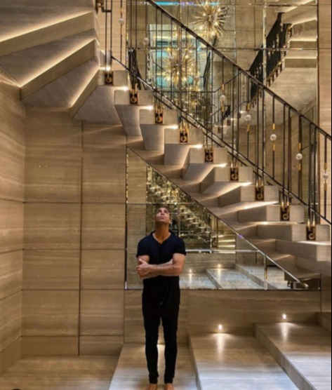 Drake began custom building his luxurious mansion in 2019