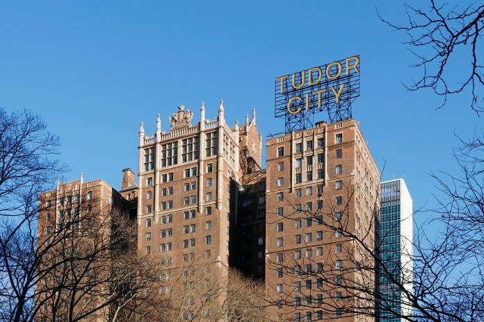 The victim, a 23-year-old male, plunged from the 23-story Tudor Tower near East 41st Street and First Avenue just after midnight on Monday