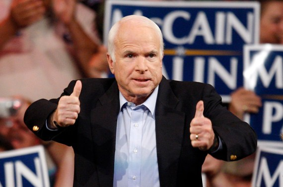 John McCain was the former United States Senator