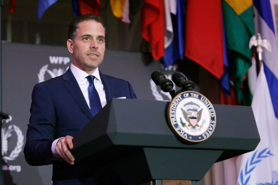 Hunter Biden allegedly text his therapist in December 2018 claiming that his then-girlfriend Hallie Biden had thrown away his gun because she was 'scared he'd harm himself'