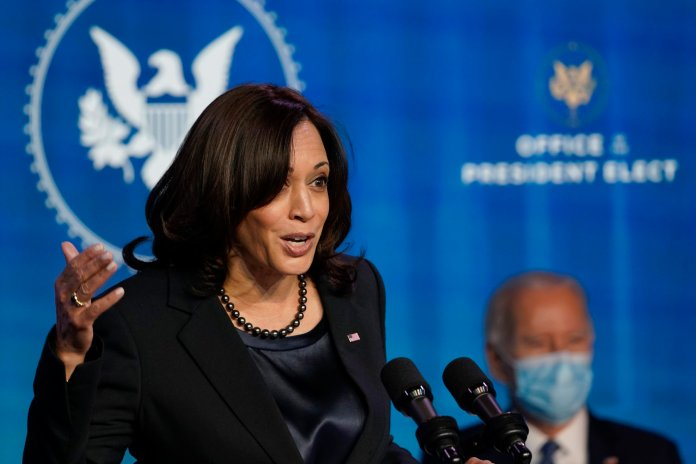 Biden designated Harris to oversee the mounting crisis at the Southern border, lauding her as the 'most qualified' person for the job