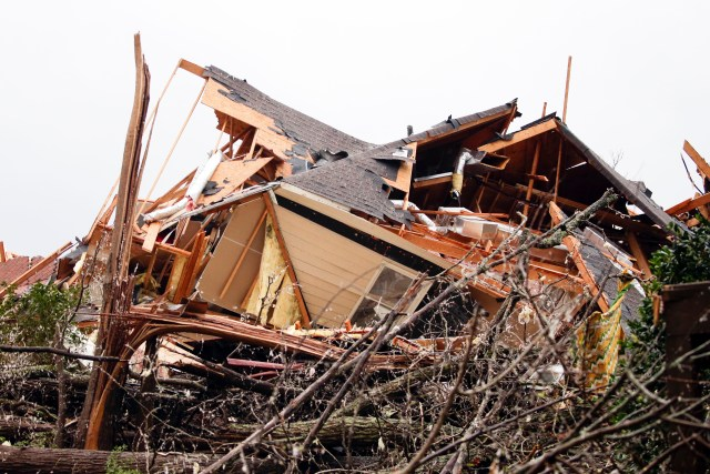 Shocking images captured the aftermath of the Alabama twisters