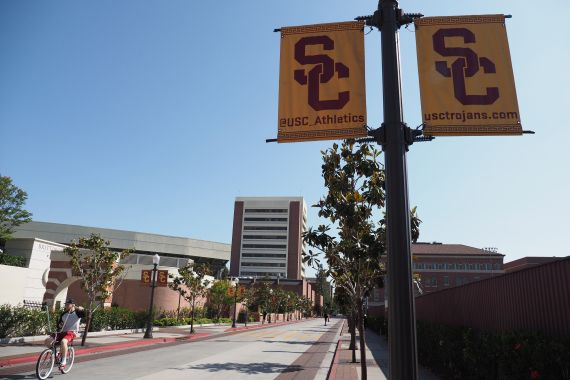 USC earlier agreed to pay $215 million to settle a class-action lawsuit that applies to about 18,000 women