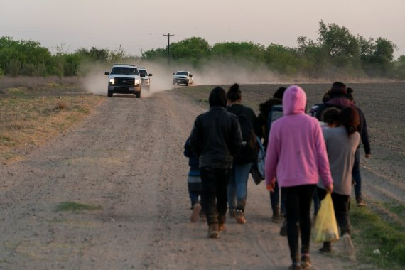 Most were single adult migrants who were expelled under a Trump-era public health order enacted at the beginning of the pandemic