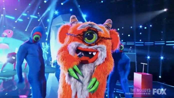 Grandpa Monster was eliminated tonight on The Masked Singer