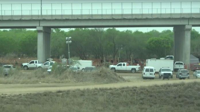 Countless migrants are held under the Anzalduas International Bridge