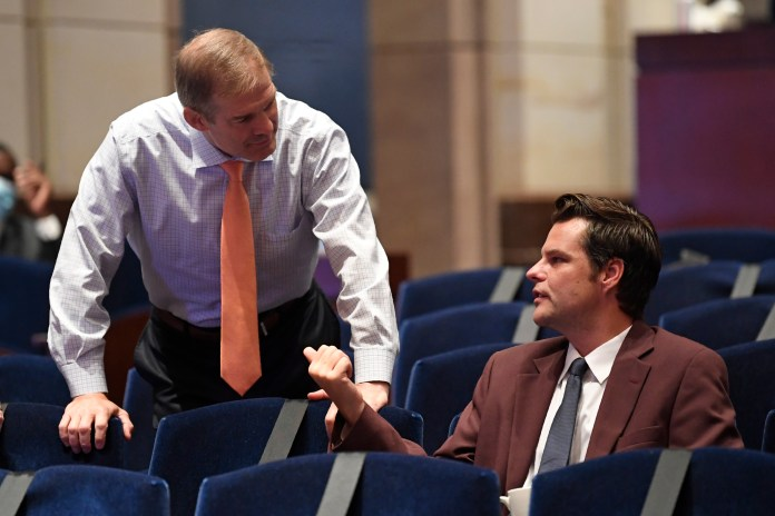 Gaetz and a number of other Republican state representatives played along in the game