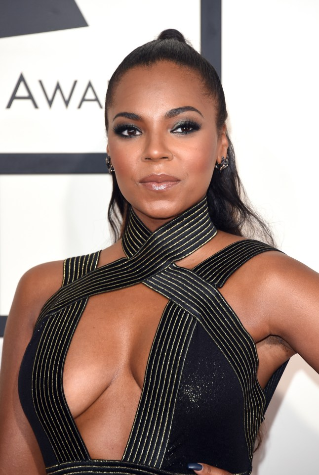 R&B icon Ashanti was among those listed on the database