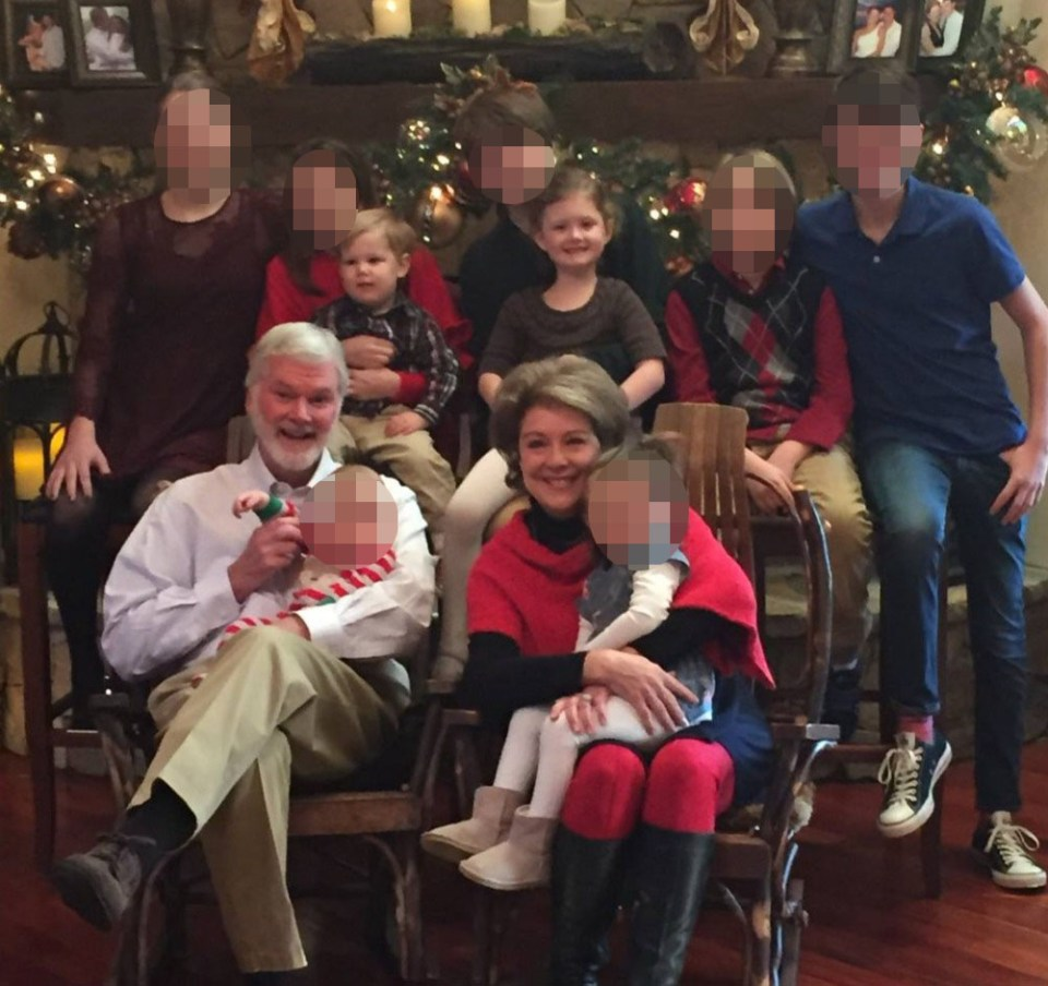 Robert Lesslie, his wife and two grandchildren were killed