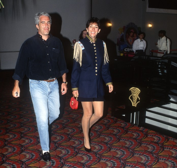Maxwell is accused of grooming young women for Jeffrey Epstein