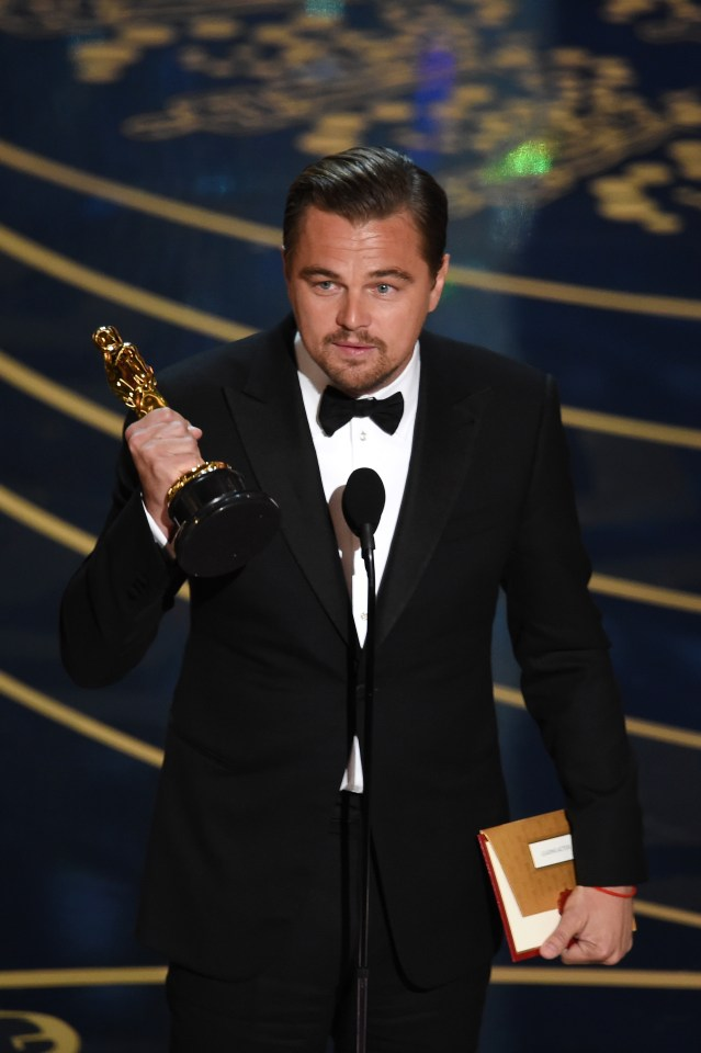 This comes five years after Leonardo won his first Academy Award for his performance in The Revenant