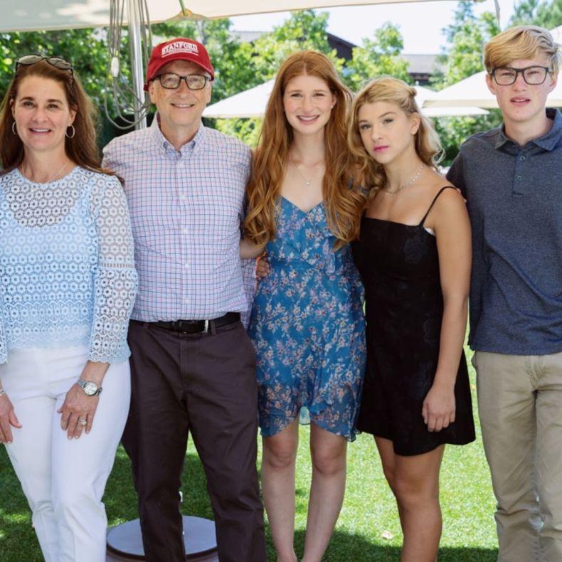 Bill and Melinda have three children