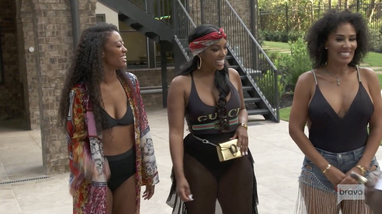 Porsha claimed she was 'not' actually friends with Falynn