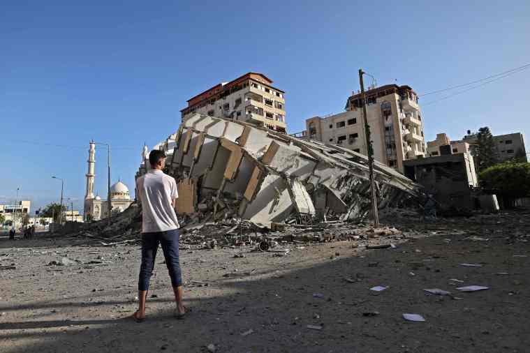 Israel dijo que ha estado apuntando a los líderes de Hamas en sus ataques con cohetes.