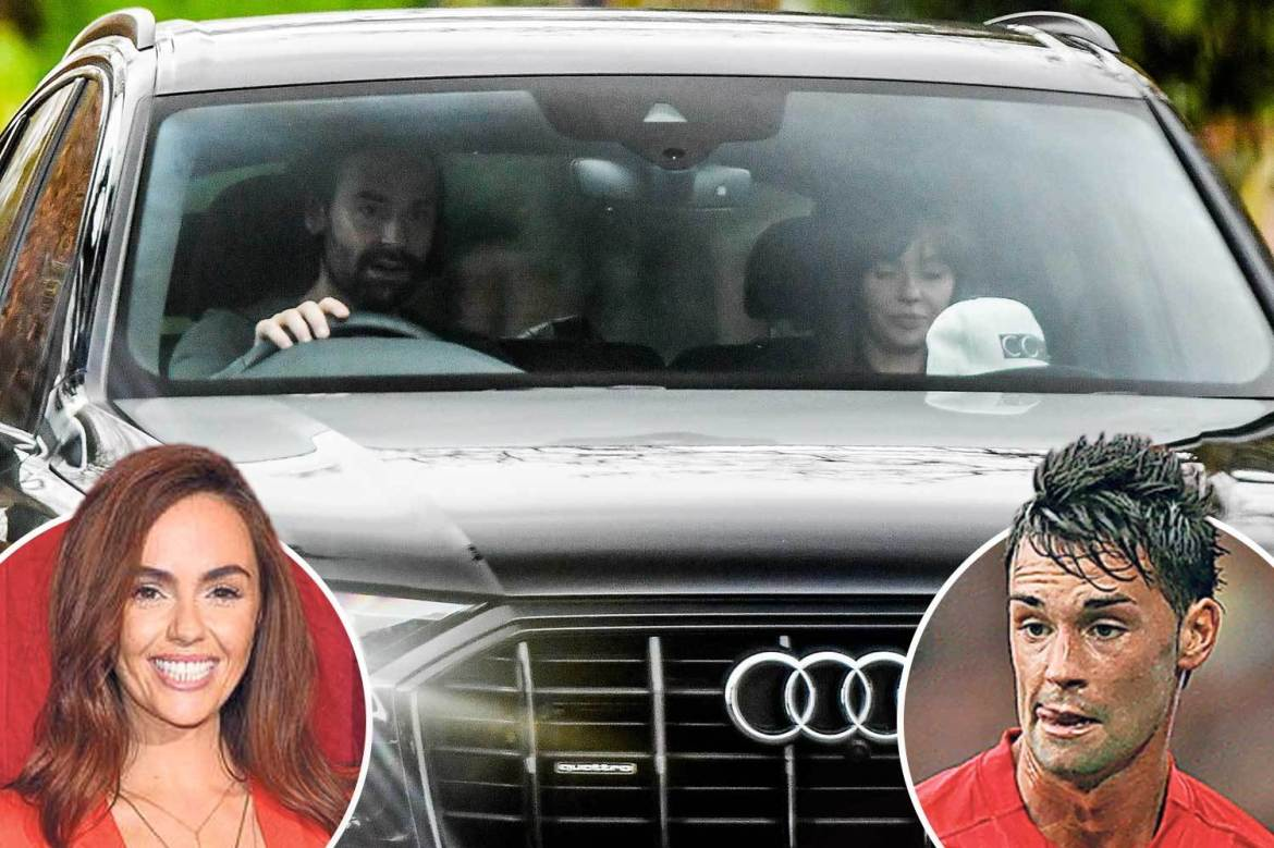 Ex-Man United star Chris Eagles arrested for 'being drunk and asleep in his  car outside girlfriend's home'