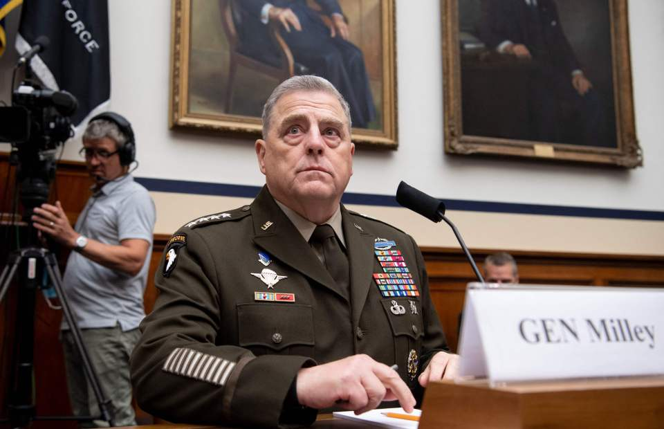 Speaking in front of the House Armed Services Committee, Milley said: 'I want to understand White rage'