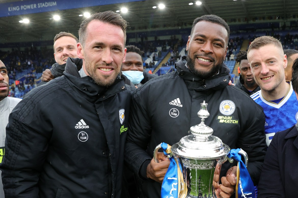 Leicester release NINE players after missing out on Champions League with  2015-16 title heroes Morgan and Fuchs out
