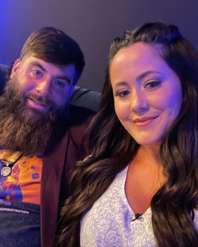 Jenelle and David married in 2017