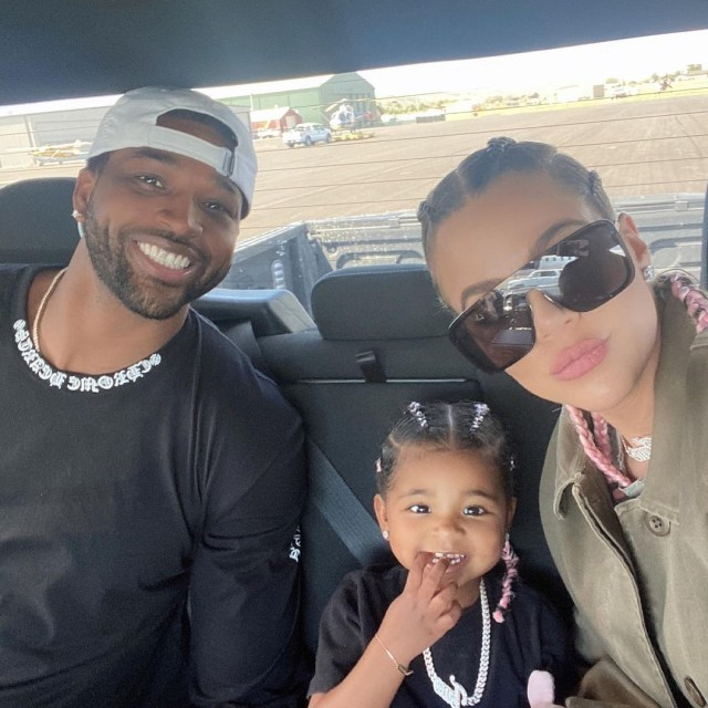 Khloe and her ex, Tristan Thompson, share daughter, True, 3