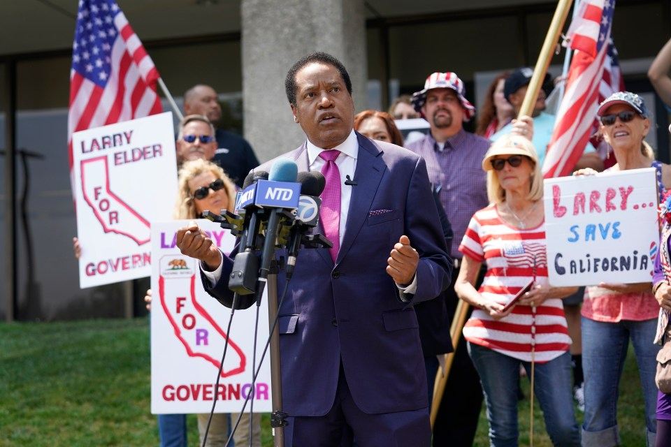 Elder is suing the California Secretary of State