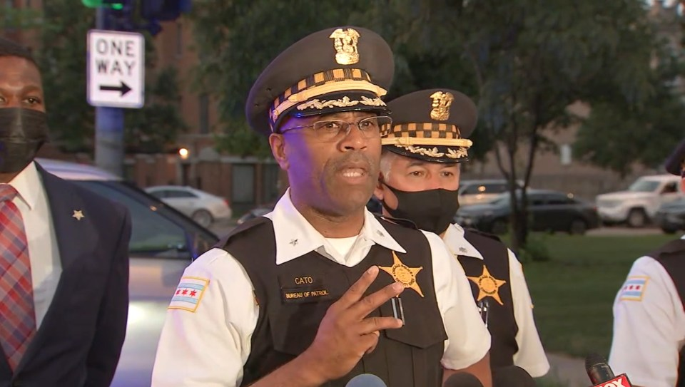 Area Four Deputy Chief Ernest Cato said 10 people were found with gunshot wounds within blocks of each other
